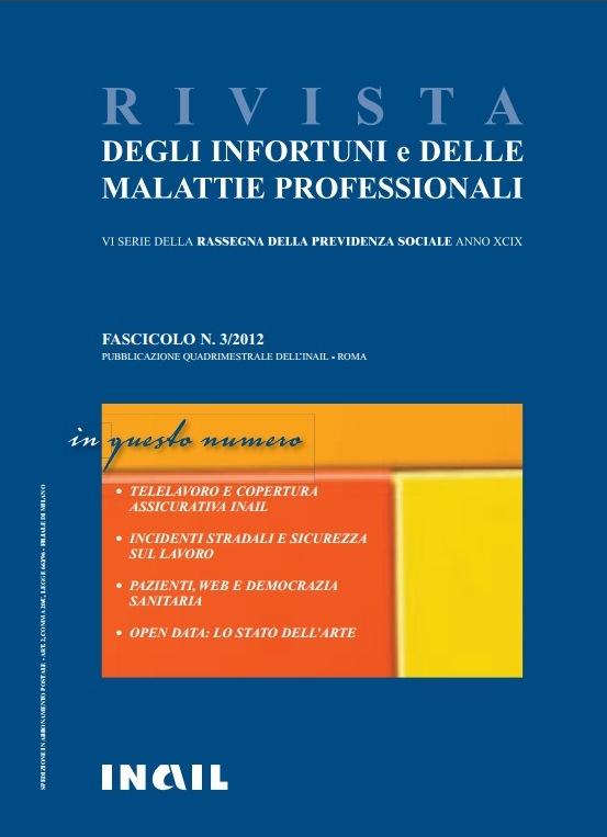 Immagine copertina fascicolo 03-2012