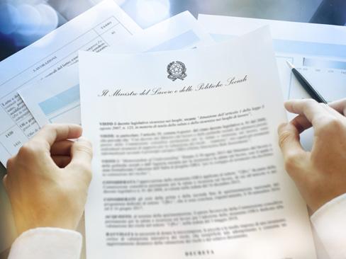 Nuove tariffe Inail, i decreti interministeriali registrati dalla Corte dei Conti