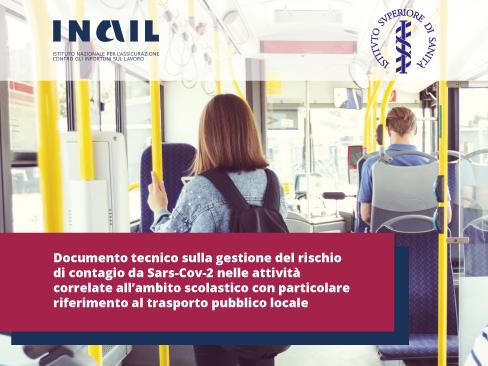 Covid-19, nel nuovo documento tecnico sulla scuola un focus sul trasporto pubblico locale
