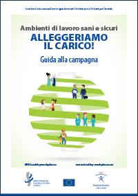La campagna intende promuovere la prevenzione dei disturbi muscoloscheletrici (Dms) nei luoghi di lavoro e promuovere una cultura della prevenzione di tali rischi per eliminarli o, qualora ciò non sia possibile, gestirli efficacemente