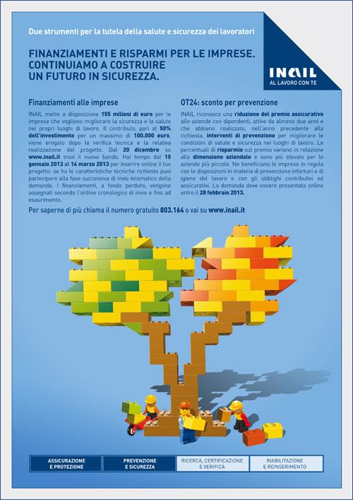 Immagine Finanziamenti alle imprese e sconto per prevenzione