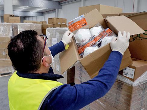 Epidemia da Coronavirus, dall'Inail 50 milioni a Invitalia per l'acquisto di dispositivi e strumenti anti-contagio