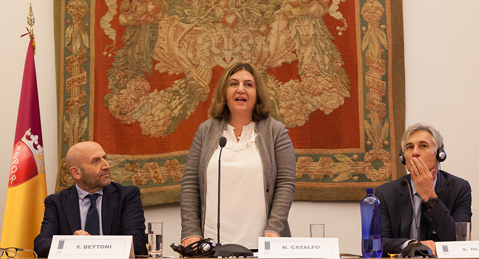 Nunzia Catalfo - Minister of Labour and Social Policies, Italy