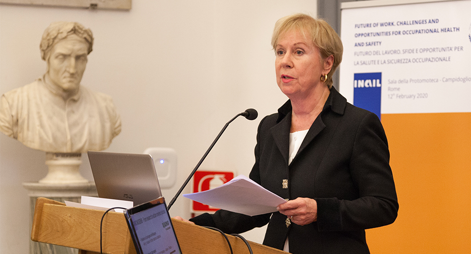 Christa Sedlatschek - Executive Director, European Agency for Safety and Health at Work -EU-OSHA