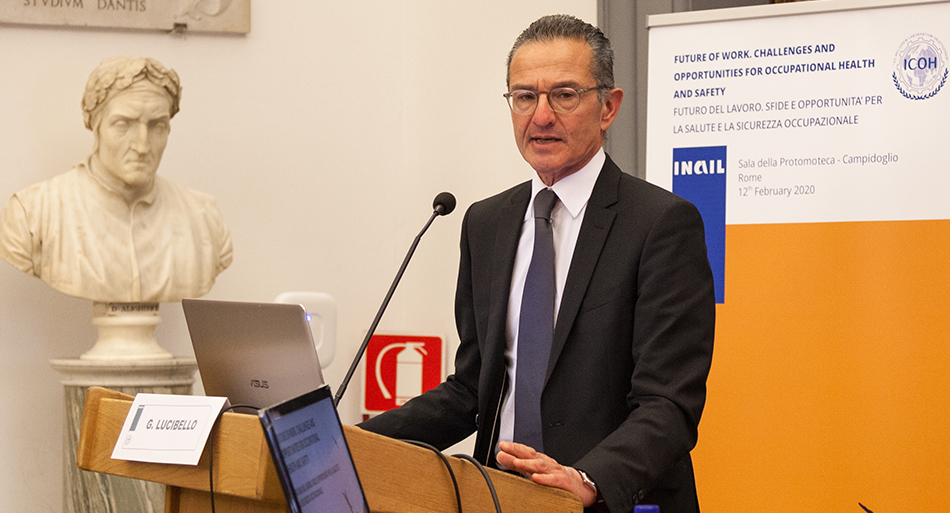 Giuseppe Lucibello - Director General, Italian Workers Compensation Authority - Inail, Italy