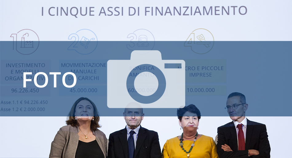 Conferenza stampa Bando Isi 2019