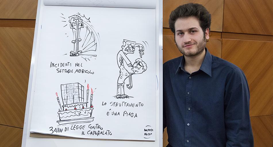 Michele Russo - Facilitatore grafico dell'evento