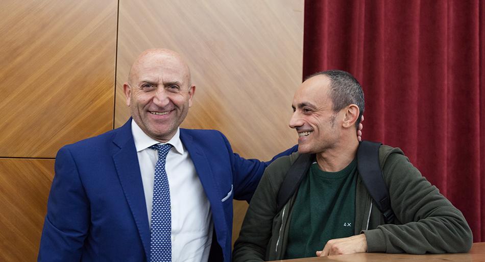 Franco Bettoni - Presidente Inail / Marco Di Campli - Attore