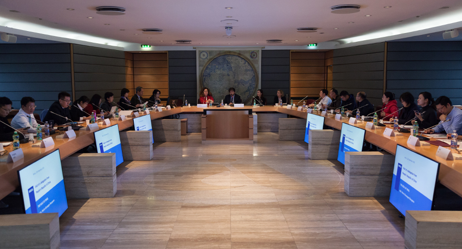 Visita delegazione cinese