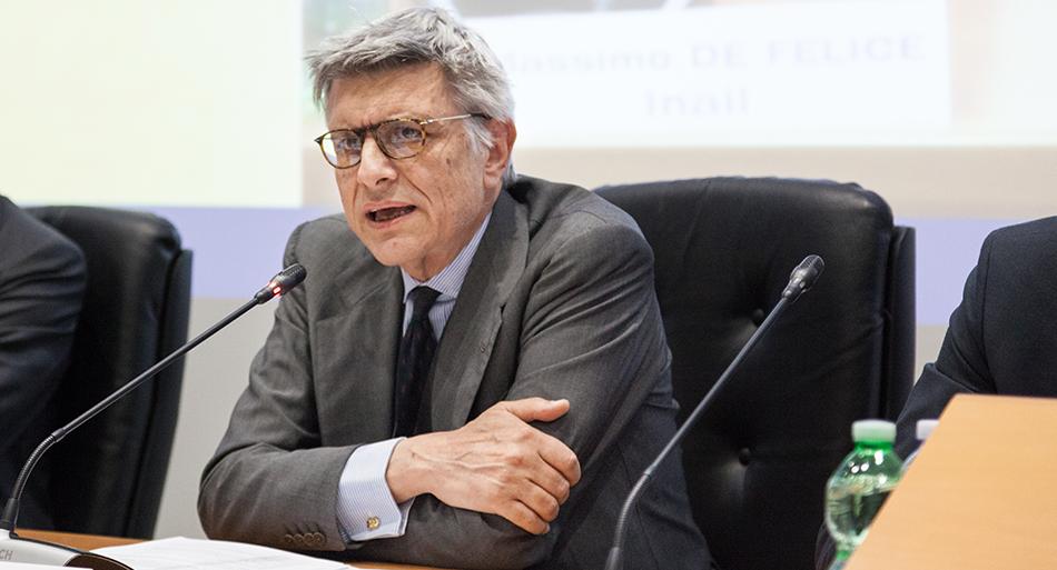 Massimo De Felice - Presidente Inail