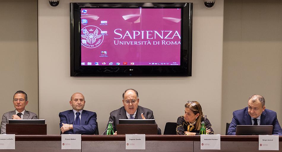 Presentazione della seconda edizione del master Sapienza-Inail