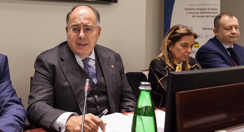 Eugenio Gaudio - Magnifico Rettore Sapienza Università di Roma