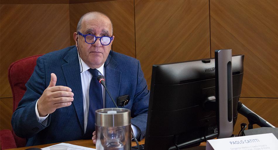 Paolo Catitti - Dirigente Medico II livello Fisiatra Centro Protesi Inail - Filiale di Roma