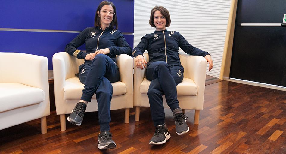Monica Contrafatto / Martina Caironi - Atlete