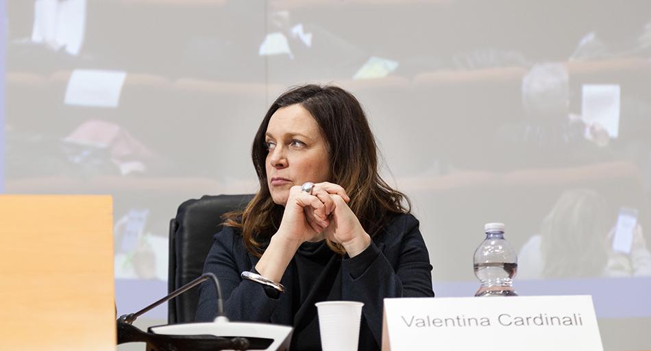 Valentina Cardinali - Consigliera Regionale di parità della Regione Lazio