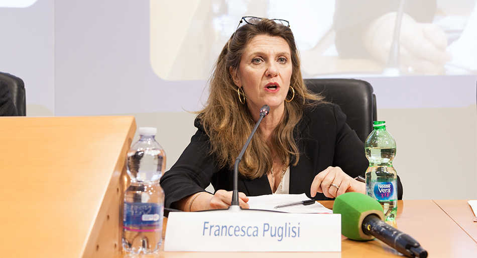 Francesca Puglisi - Sottosegretario di Stato al Ministero del lavoro e delle politiche sociali