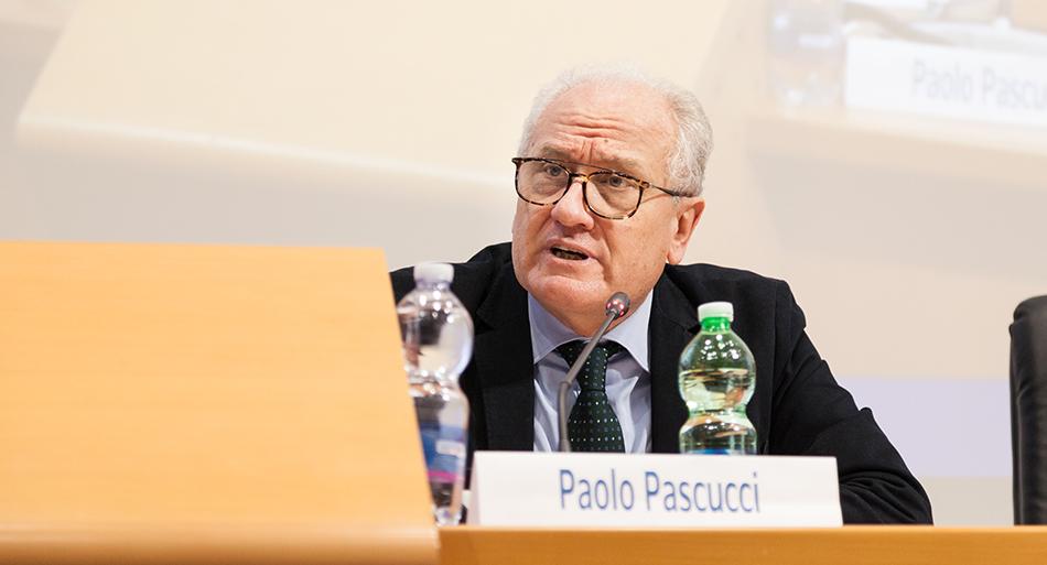 """Paolo Pascucci - Professore ordinario di Diritto del lavoro Università di Urbino Carlo Bo e presidente dell'Osservatorio """"Olympus"""""""