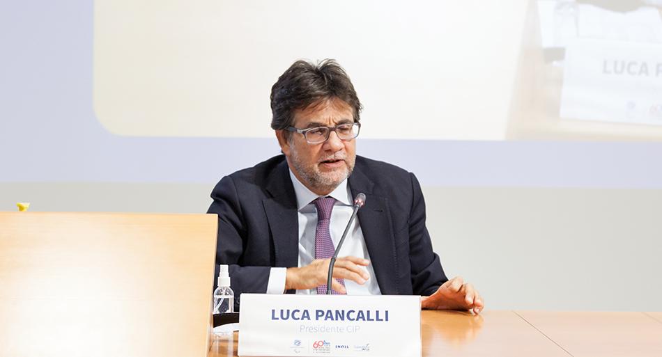 Luca Pancalli - Presidente Cip