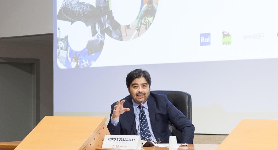 Auro Bulbarelli - Moderatore - Direttore Rai Sport