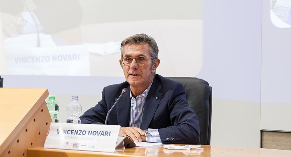 Vincenzo Novari - Ceo Milano-Cortina 2026