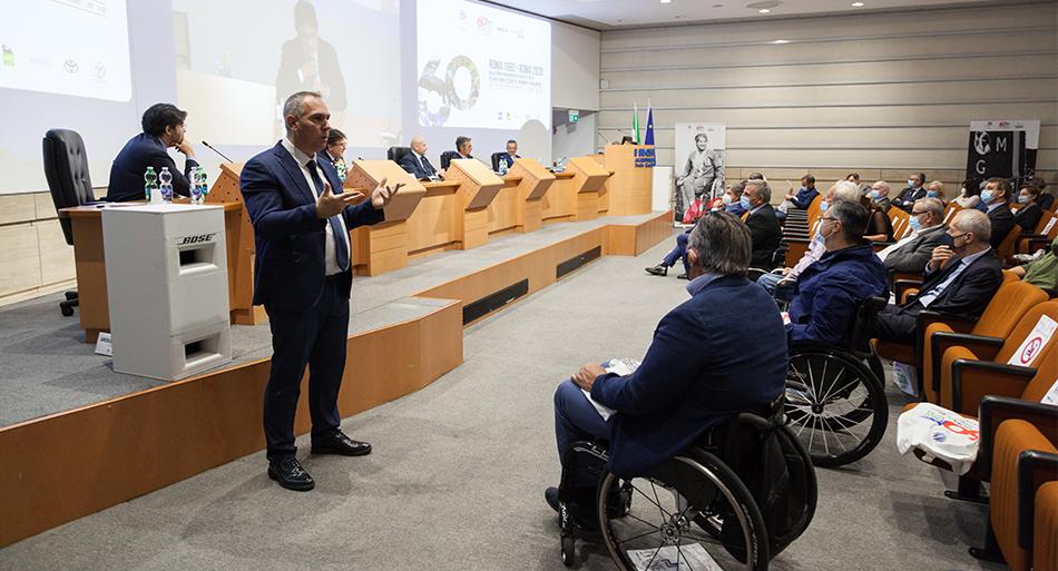 Roma 1960 - Roma 2020. Dalla prima Paralimpiade ai Giochi di Tokyo. Sessanta anni di storia del movimento paralimpico