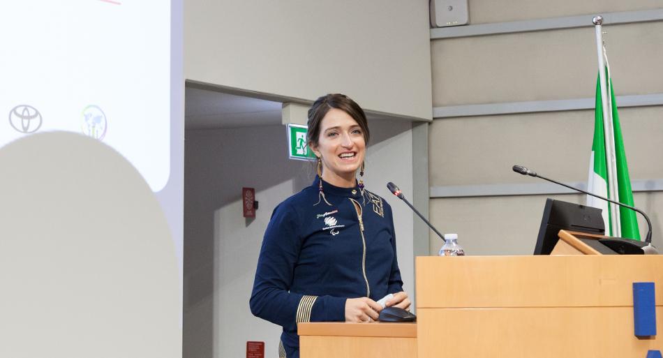 Martina Caironi - Atleta assistito centro protesi Budrio