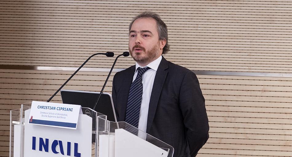 Christian Cipriani - Direttore Istituto di Biorobotica, Scuola Superiore Sant'Anna