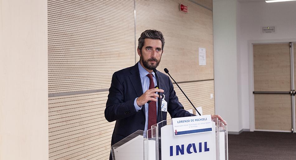 Lorenzo De Michieli - Responsabile Rehab Technologies Lab, Istituto Italiano di Tecnologia