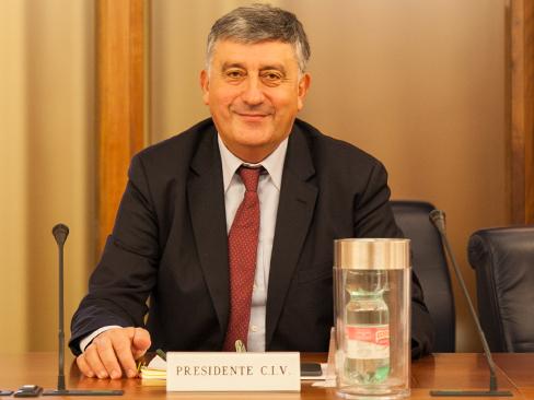 Il nuovo presidente del Civ Inail, Giovanni Luciano