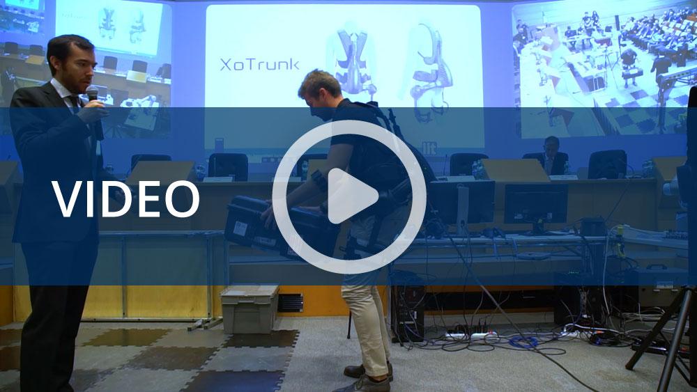 L'esoscheletro e il robot teleoperativo di Inail e IIT