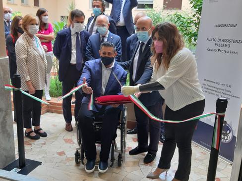 Centro protesi Inail, inaugurato a Palermo il nuovo punto di assistenza per persone con grave disabilità