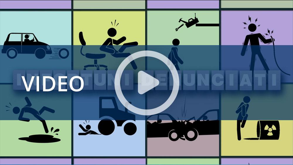 Dati Inail: l'infografica animata degli infortuni denunciati