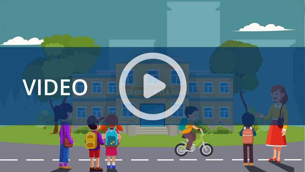 Dati Inail: l'infografica animata del settore Scuola