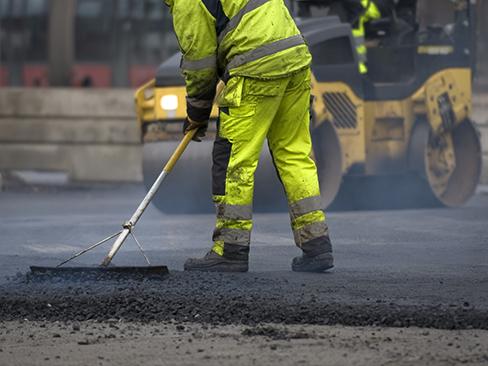 Lavoratore impegnato in un'attività di pubblica utilità