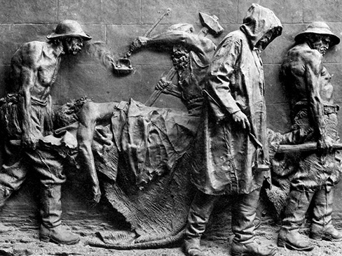 Monumento alle vittime del lavoro, 11 anni fa l'inaugurazione all'ingresso della Direzione generale Inail