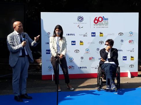 Celebrazioni 60° anniversario paralimpiadi