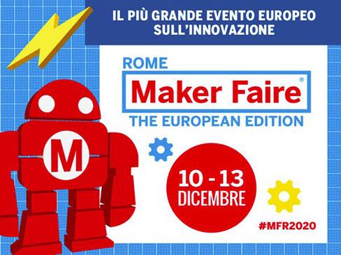 Sicurezza sul lavoro e innovazione, la ricerca Inail a Maker Faire Rome 2020