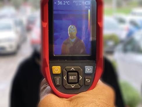 Termometro IR