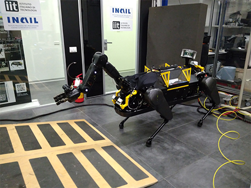 HyQReal quadrupede robotico