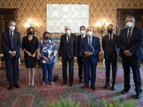 Sicurezza sul lavoro, al Quirinale l'incontro tra il presidente Mattarella e i vertici Inail