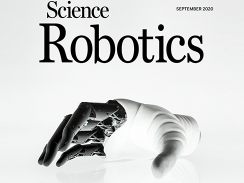 "Hannes rivista scientifica ""Science Robotics"""