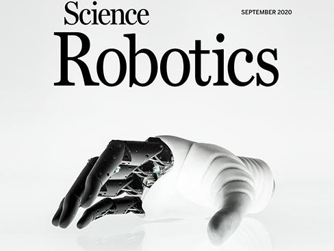 "Hannes rivista scientifica ""Science Robotics"""
