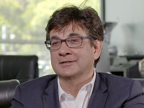 Il presidente del Cip Luca Pancalli