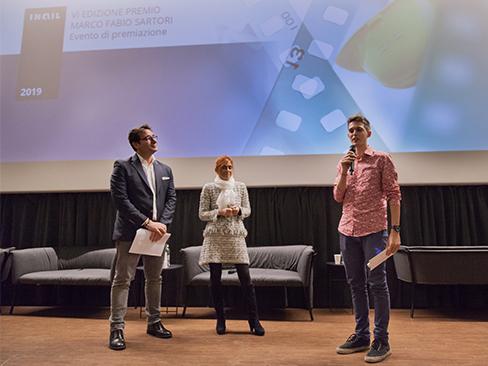 Immagine premiazione Concorso nazionale Sartori 2018
