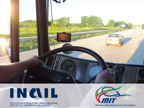 Salute e sicurezza nell'autotrasporto, sottoscritto un protocollo d'intesa Inail-Mit
