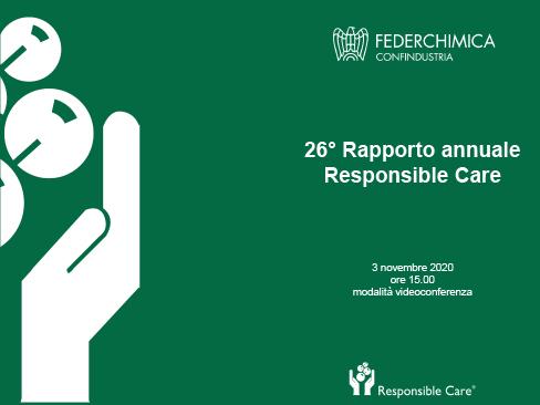 26° Rapporto Responsible care