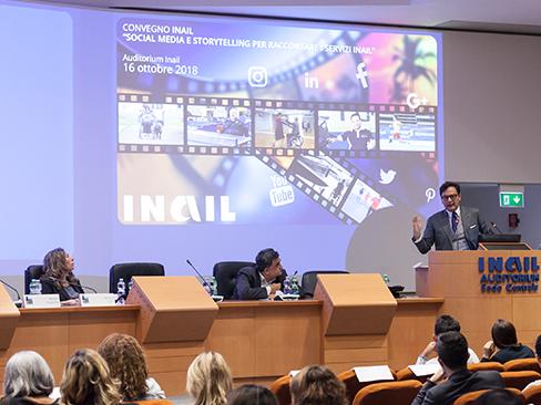 PA digitale, all'Inail presentate le buone prassi della comunicazione social