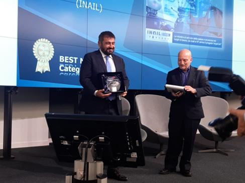 """Inailnews"" riceve l'Ascai media Awards 2021"