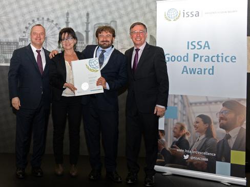 Buone pratiche per l'Europa 2017-2019, l'Inail premiato al Forum Issa di Baku