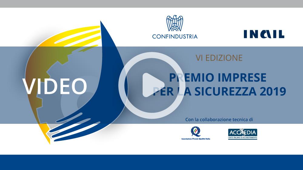 Premio Imprese Sicurezza 2019
